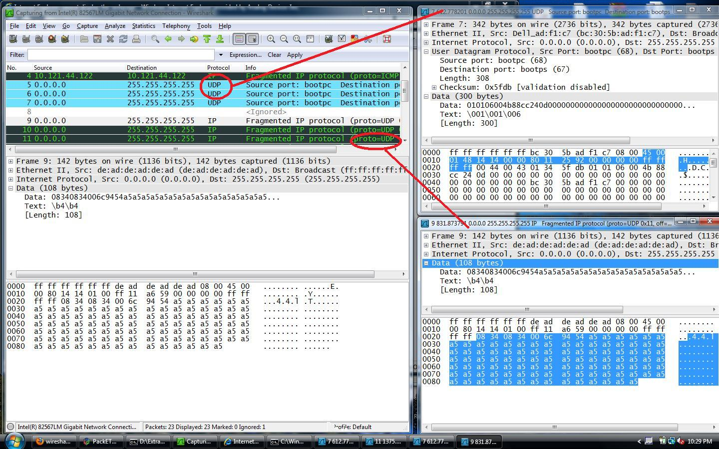 Programmi Hacker ( Hacker Toolkit ) : Analizzatori di rete Wireshark