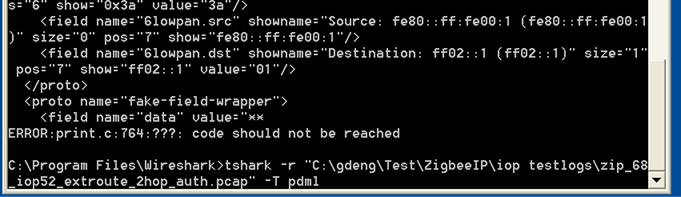 Wireshark: Wireshark 1 6 1 onwards cannot export segmented