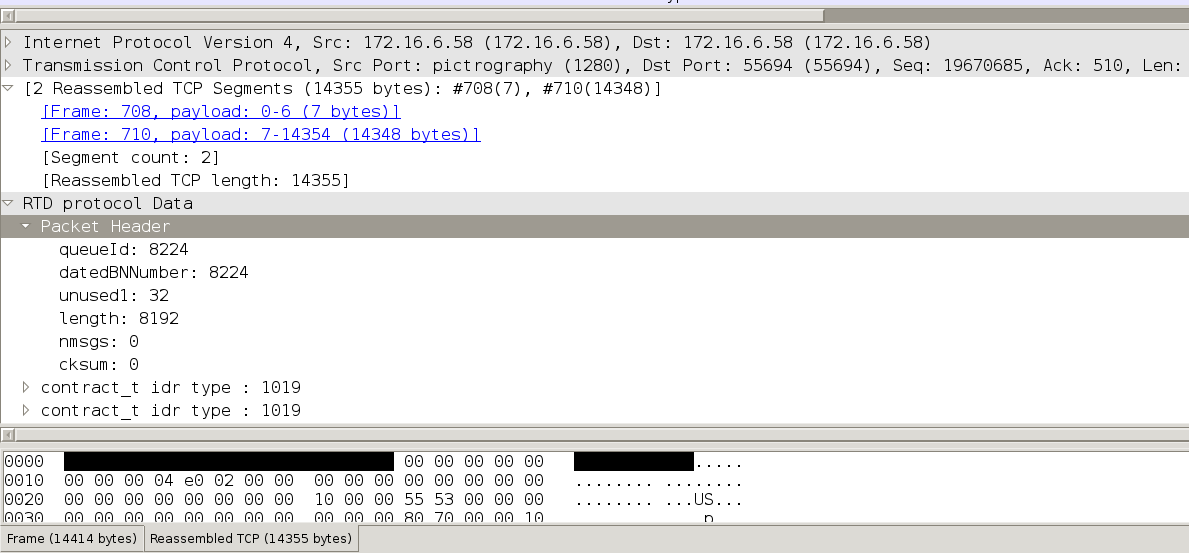 Wireshark: wanted to find frame size