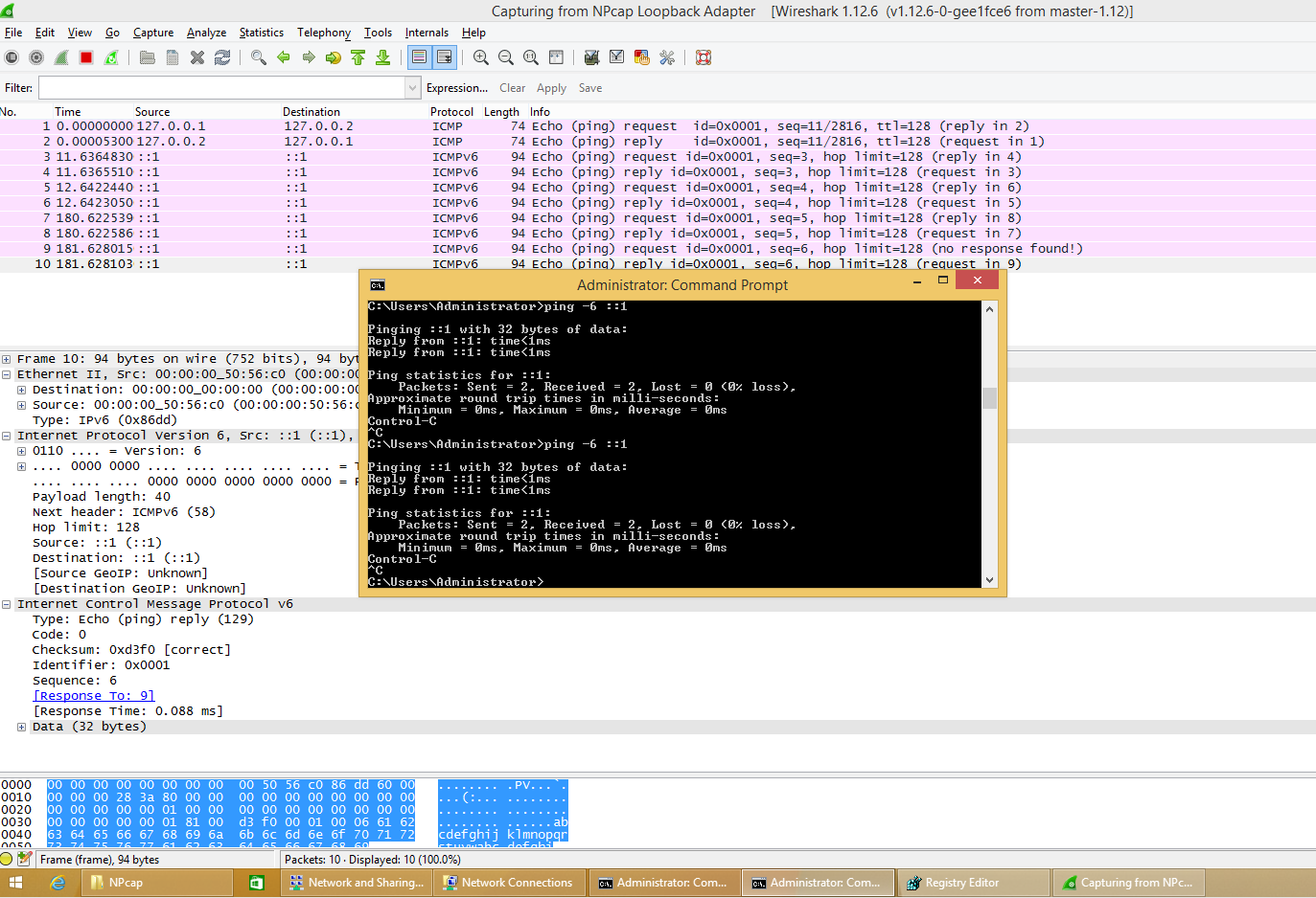 Windows command prompt nmap - Wireshark Npcap 0 01 Call For Test About Windows Loopback Traffic Capture Feature
